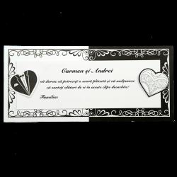Plicuri de bani tematica alb&negru  01.40.021