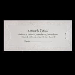 Plicuri de bani carton alb 01.60.025