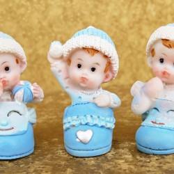 Marturii ieftine botez baieti 123191B : bebe bleu – 6 x 3 cm – 5 lei/buc(marturii set 3 – comanda trebuie sa fie multiplu de 3)