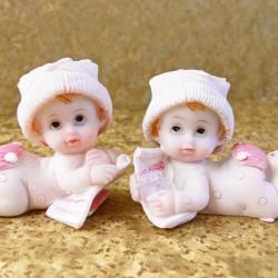 Marturii ieftine botez fete 130102AG : bebe roz – 5 x 4 cm – 5,5 lei/buc (marturiile set 2 buc – comanda rebuie sa fie numar par)