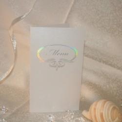 Meniu nunta me01 (se asorteaza cu place cardurile: pz10, pza8, pza9)