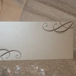 Place carduri nunta cu plic pentru bani PZ11