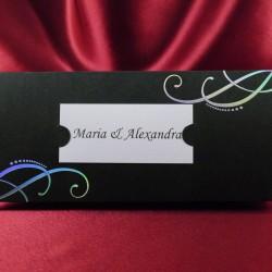 Place carduri nunta cu plic pentru bani PZ13