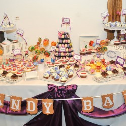 Candy bar nunta tematica fluturi