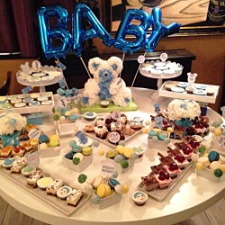 Candy bar Baby shower Baby boy