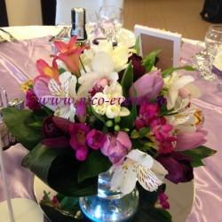 Aranjamete florale botez Bucuresti Restaurant Est