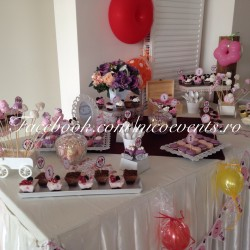 Candy bar botez fetita Minnie Mouse
