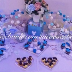 Candy bar botez baietel tematica Mickey Mouse 30 persoane